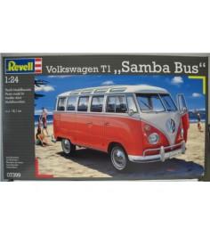 Автобус vw t1 samba bus Revell 07399N
