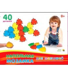 Напольная мозаика для малышей в коробке Рыжий кот м-5033