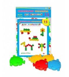 Напольная мозаика для малышей в пакете Рыжий кот м-7551