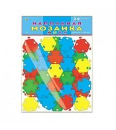 Напольная мозаика мини 24 детали в пакете Рыжий кот м-0522