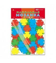 Напольная мозаика мини 40 деталей в пакете Рыжий кот м-0523