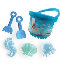 Песочный набор морской порт Рославльская игрушка 4021