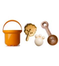 Песочный набор золотое лето люкс Рославльская игрушка 4051