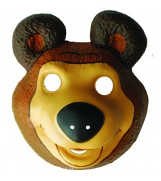 Маска pvc медведь тм маша и медведь маски Росмэн 18382
