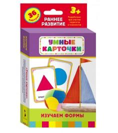 Набор развивающих карточек изучаем формы 36 шт Росмэн 21000