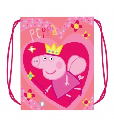 Мешок для обуви Свинка Пеппа Королева Росмэн 29317