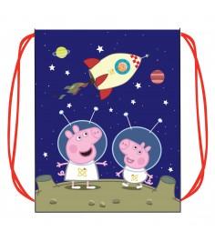 Мешок для обуви свинка пеппа космос Росмэн 30081