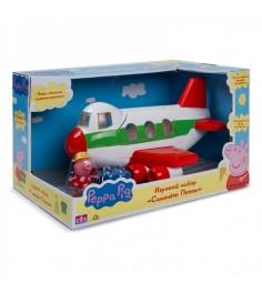 Игровой набор свинка пеппа самолет пеппы Росмэн 30630