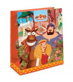 Пакет подарочный Три богатыря 230*180*100 Росмэн 30986