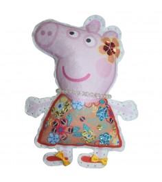 Набор для шитья игрушки свинка пеппа пеппа на отдыхе Росмэн 31092