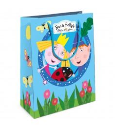 Пакет подарочный Бен и Холли 230*180*100 Росмэн 32189