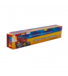 Тесто для лепки вспыш и чудо машинки 6 цветов Росмэн 33358