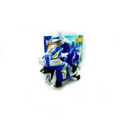 Игрушечный мотоцикл с фигуркой полиция Shantou Gepai 1407B008