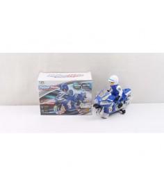 Игровой набор police moto мотоцикл с гонщиком Shantou Gepai B1525304