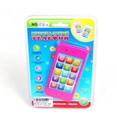 Музыкальная игрушка телефон свет Shantou Gepai 16336-A