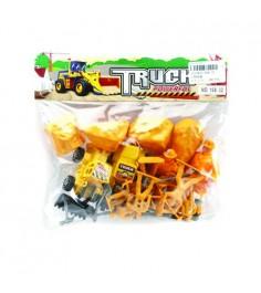 Игровой набор truck строители Shantou Gepai 168-32