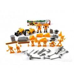 Игровой набор строители с техникой и фигурками Shantou Gepai 168-47