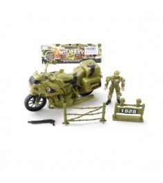 Игровой набор military солдат с мотоциклом Shantou Gepai 1828-83B