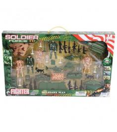 Игровой набор военный полигон soldier force Shantou Gepai 217