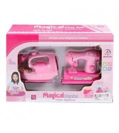 Игровой набор бытовой техники magical швейная машина и утюг Shantou Gepai 2928D