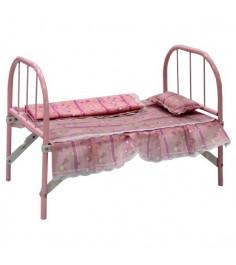 Металлическая кроватка для куклы 49 см Shantou Gepai 41699