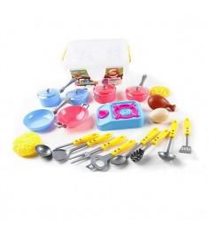 Игровой набор посуды kitchen 19 предметов Shantou Gepai 606-1