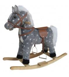 Качалка лошадь в яблоках 62 см Shantou Gepai 611036