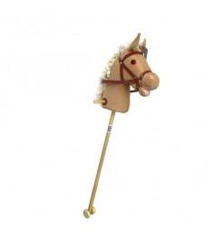 Лошадка на палочке с колесиками 95 см Shantou Gepai 61840