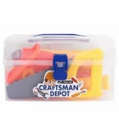 Набор игрушечных инструментов craftsman depot в чемоданчике Shantou Gepai 6401-3