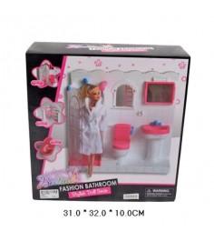 Набор ванная комната с куклой Shantou Gepai 66844