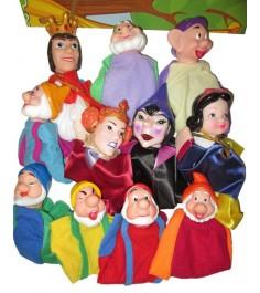 Кук театр белоснежка 11 кукол Shantou Gepai 68389(П)