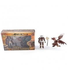 Игровой набор с 2 фигурками magic dragon knights Shantou Gepai 71900