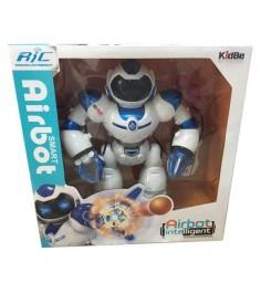 Интерактивный робот р/у airbot Shantou Gepai A998224M-W