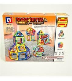 Магнитный конструктор magnetic sheet 46 деталей Shantou Gepai LT1002