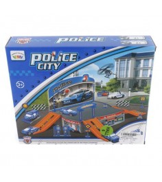 Игровой набор c 2 машинками police city полицейская станция Shantou Gepai P2088