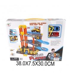 Паркинг 3 уровня 2 машинки Shantou Gepai P7688A-3