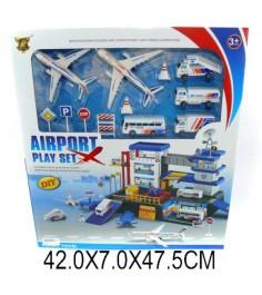 Аэропорт парковка 4 машины 2 самолета Shantou Gepai P826-A