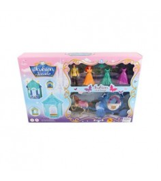 Игровой набор fashion castle голубой Shantou Gepai SS024A