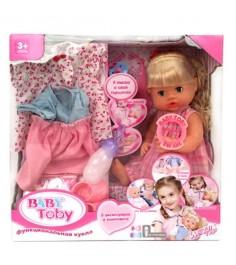 Кукла 42 см с аксессуарами пьет писает говорит Shantou Gepai Y20084330