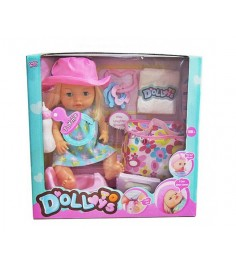 Кукла функц я 40 см пьет и писает Shantou Gepai LD9810B