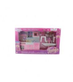 Набор кухонной мебели для куклы jennifer my dream home Shenzhen toys 2288