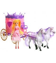 Набор princess and carriage карета с куклой Shenzhen toys Д17690