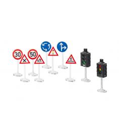 Игровой набор Siku Светофоры и дорожные знаки 8 предметов 5597