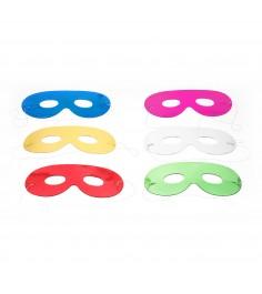 Набор блестящих карнавальных масок очки 6 шт Snowmen Е0306