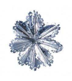 Новогоднее украшение гирлянда снежинка Snowmen Е50932