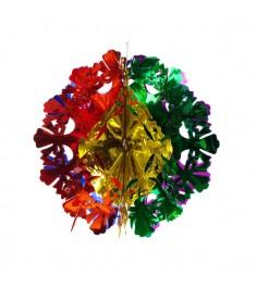 Новогоднее украшение многоцветный шар 29.5 см Snowmen Е50937