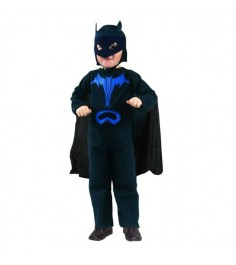 Костюм бэтмен с маской 3 4 года Snowmen Е6336-1