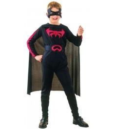 Костюм бэтмена с маской 4 6 лет Snowmen Е6338-1