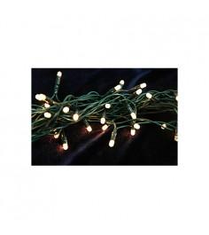 Уличная новогодняя гирлянда 200 лампочек 10 м Snowmen Е70308-1