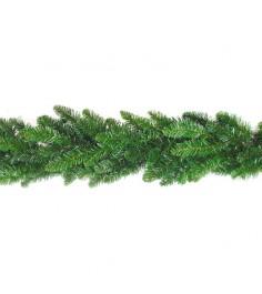 Новогодняя гирлянда еловые ветки 270 см Snowmen Е70350